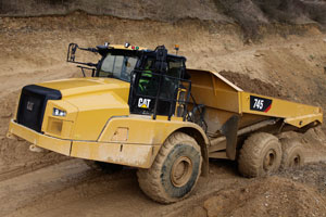 Caterpillar notches another truck milestone