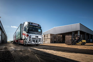 Bordertown Haulage endorses the fuel efficiency and safety features of Volvo Trucks and for its veteran operator Peter Karger, the Volvo FH Globetrotter and Dynafleet system has afforded his business a new lease on life.