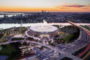 Optus Stadium: An architectural icon