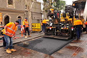 City of Yarra uses 100 tonnes of recycled waste in road resurfacing