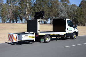 Verdegro Light Truck Mounted Attenuator a winner for utilities management firm