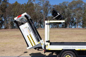 The Verdegro Light Truck Mounted Attenuator is giving Sydney-based firm Australian Utilities Management a cost-effective means of servicing small civil jobs quickly and safely.