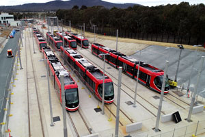 How Canberra Light Rail – Stage 1 is making sustainable tracks