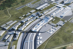 Western Sydney Airport has appointed Architectusto plan a business park on a dedicated 191-hectare parcel of airport real estate.