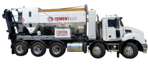 1- The Cemen Tech Volumetric Concrete Mixer from Antec is a batch plant and mixer in one.