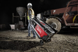 Milwaukee Tool's new MX FUEL™ Tower Light/ Charger offers portable, high-output battery- powered light.