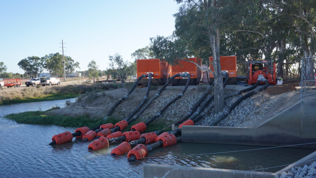 Water management including water transfer, de-watering and water treatment are among Coates' solutions.