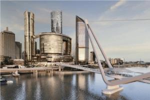 QLD's Neville Bonner pedestrian bridge works progressing